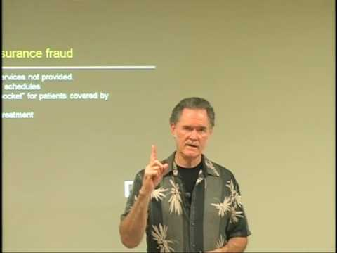 Insurance Fraud: Cash Patients & Billing -- Online Acupuncture PDA
