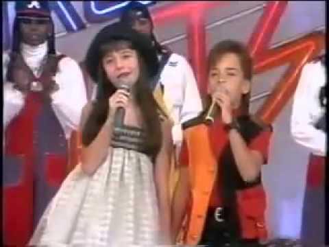 Com Você - Sandy e Junior - Xuxa Park