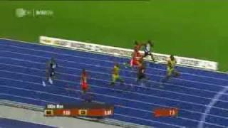 WM 2009 Berlin World Record 100m Manusia Pelari Tercepat