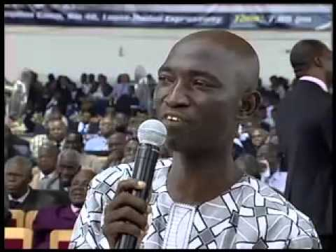 RCCG Testimony at Redemption Camp