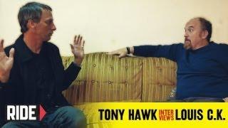 Tony Hawk Interviews Louis C.K. About Dane Cook, Reddit
