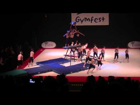 Spartans Display Team Gymfest 2014