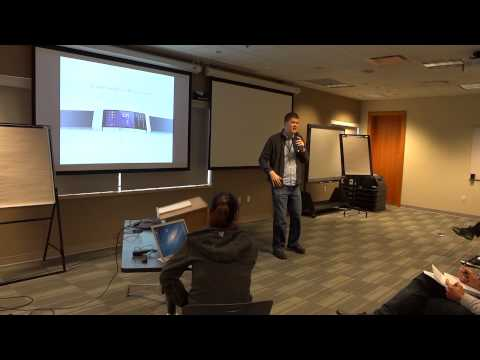 Introducing the Apple iWatch! - at Toastmasters by geoffmobile