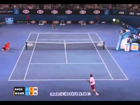 Вавринка победи Надал на Australian open 2014г.