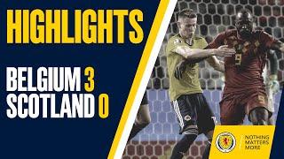 HIGHLIGHTS   Belgium 3-0 Scotland
