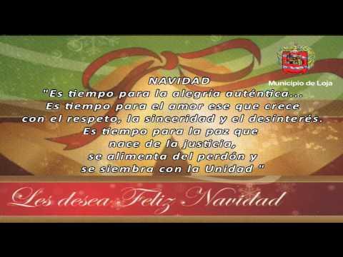 Mensaje Navidad Municipio de Loja 2014