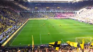 Dortmund-fans verwelkomen Kagawa weer thuis, kippenvel!...