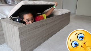 BEST HIDE AND SEEK SPOT!! & My Squishy Toys Collection