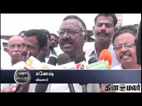 Farmers in Madurai, Theni & in Southern Region Celebrate SC statement on Mullaperiyar Dam