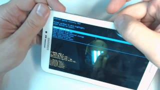 Samsung Galaxy Tab 3 7.0 SM T211 How To Reset Como