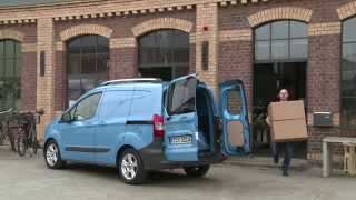 New Ford Transit Courier 2014