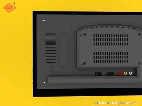 Hướng dẫn lắp ráp Khung xoay TV X4.3