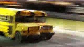 Carreras de autobuses escolares en EEUU