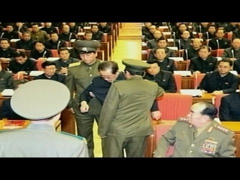 North Korea ousts uncle in a 'perp walk'