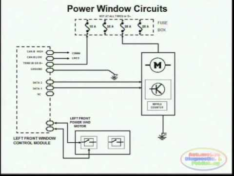 Power Window    Wiring       Diagram    2  YouTube
