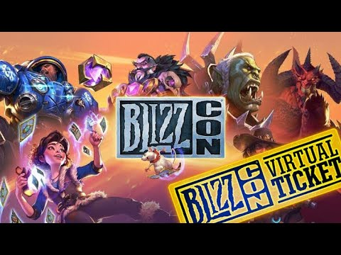 BlizzCon Virtual Ticket || MEGA REGALO || HEARTHSTONE ||