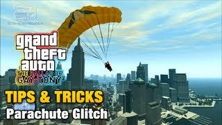 GTA: The Ballad Of Gay Tony Tips & Tricks Parachute