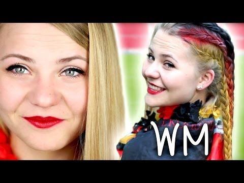 GET READY WITH ME - WM Public Viewing | Germany