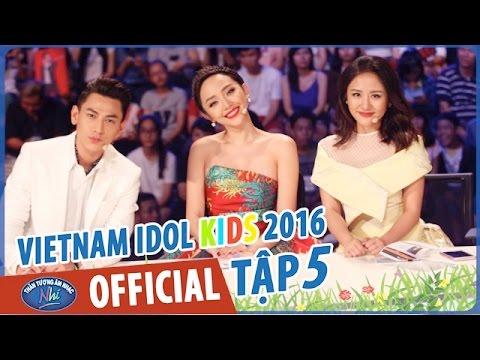 VIETNAM IDOL KIDS - THẦN TƯỢNG ÂM NHẠC NHÍ 2016 - TOP 6 NỮ - PHÁT SÓNG 22/05/2016