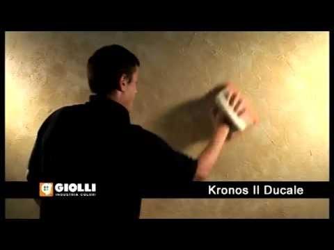 Gollio - tynk ozdobny Kronos i farba dekoracyjna Il Ducale