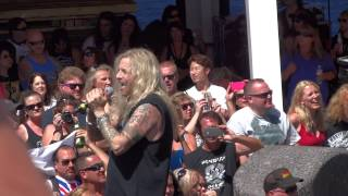 TED POLEY Purple Rain by RANDY GILL Monsters of Rock Cruise 2014 Cheap Thrill Jam view on youtube.com tube online.