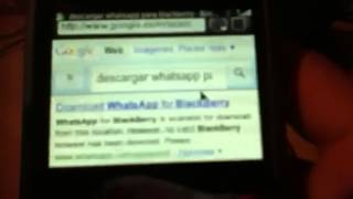 Como Descargar WhatsApp For BlackBerry