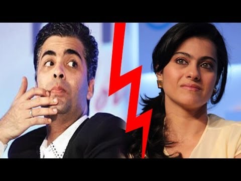Is Karan Johar spreading false rumours about Kajol