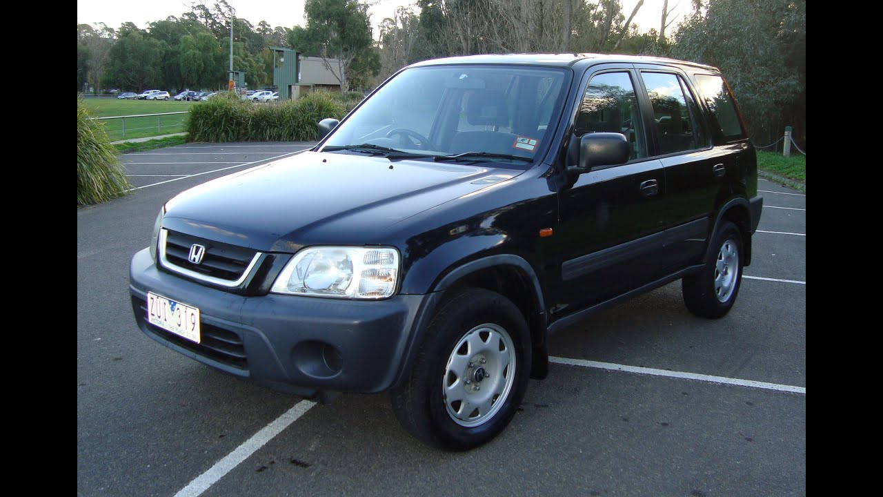 2000 honda cr v crv cr v 4x4 4 x 4 for sale on ebay youtube. Black Bedroom Furniture Sets. Home Design Ideas