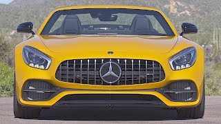 Mercedes-AMG GT C Roadster (2017) Jaguar F-Type Killer? [YOUCAR]. YouCar Car Reviews.