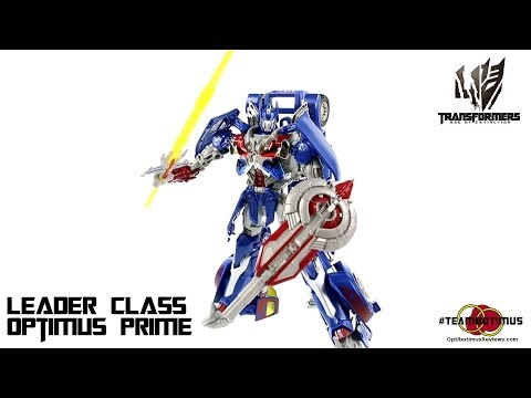 Video Review of the Transformers Age of Extinction: Leader Class Optimus Prime
