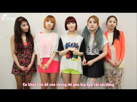 [SHVN][Vietsub][4.6] WonderGirls Greeting Message