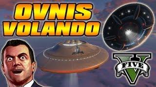 Misterios De GTA V OVNIS Volando Como Encontrar 3