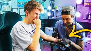 GETTING MY FIRST TATTOO!! 😱