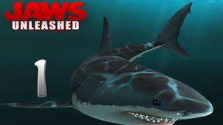 Lets Play Jaws Unleashed [1][HD] Under The Sea