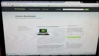 How To Unlock Bootloader HTC DROID DNA