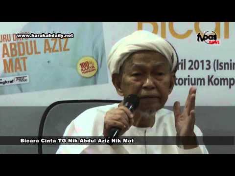 Bicara Cinta TG Nik Abdul Aziz Nik Mat