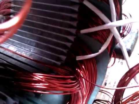 Cách vào motor 3, cách quấn dây 3