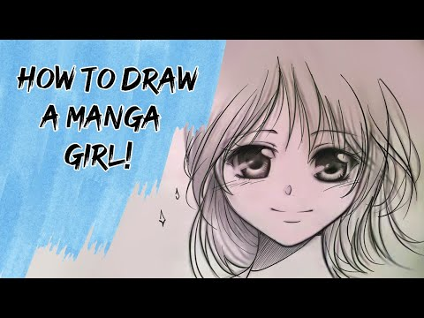 How to draw a Manga girl