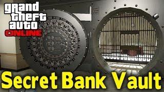 GTA Online SECRET BANK VAULT (First Heist Location