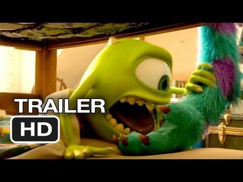 Monsters University Final Trailer (2013) Pixar Movie HD