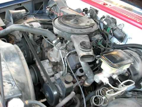 1988 S10 2 8 Liter V6 Engine Youtube
