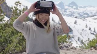 Professional Snowboarder Chloe Kim Talks About Olympics 2018 and 360 VR