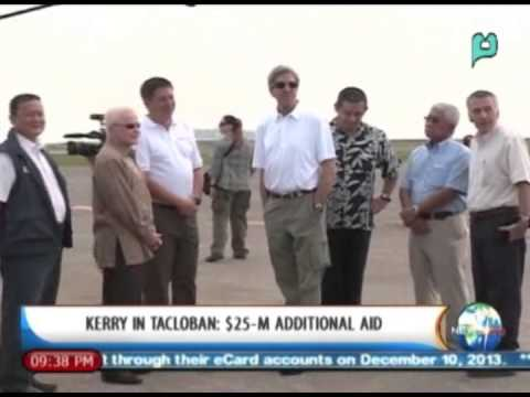 [NewsLife] Kerry in Tacloban: $25-M additional aid  || Dec. 18, 2013