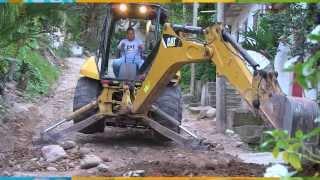 Inician trabajos de rehabilitación en la calle Copa de Oro