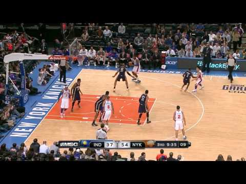 The Jeremy Lin Show Vs. Indiana Pacers (3/16/12)