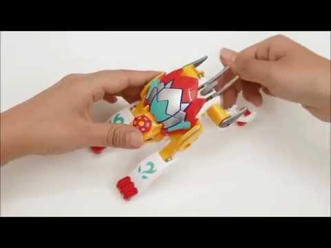 King Star Omega - Hướng dẫn chơi Zinba [Đồ chơi trẻ em IKID]