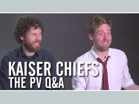 KAISER CHIEFS — The PV Q&A with Ricky Wilson and Simon Rix (Interview)