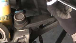 Acura TSX Rear Upper Control Arm Removal.