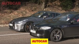 BMW M5 Vs Nissan GT-R Www.autocar.co.uk