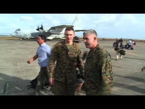 US marines join Philippines typhoon rescue